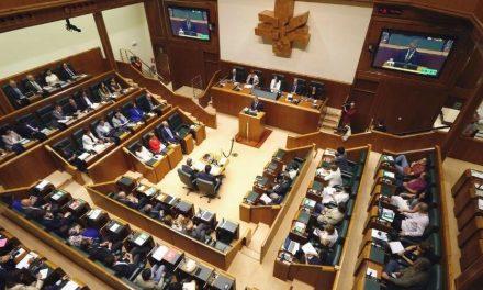 Parlamento Vasco realizó una segunda sesión constitutiva para elegir a los miembros de mesa