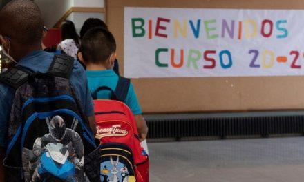 Más de 400.000 alumnos ponen a prueba las medidas de seguridad en la vuelta al colegio en Madrid