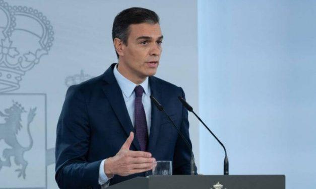 Presidente Sánchez pedirá a la Comisión Europea el doble de lo que estaba previsto