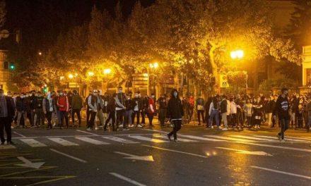 Continúan los disturbios nocturnos en Logroño y León por las restricciones impuestas