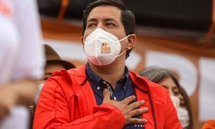 Arauz gana las elecciones presidenciales en Ecuador pero tendrá que ir a una segunda vuelta