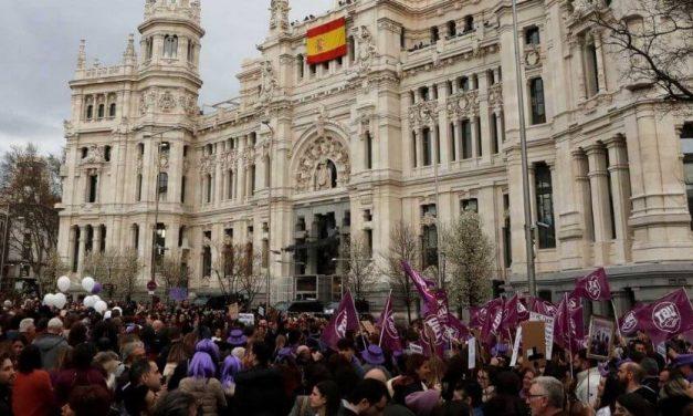 Gobierno de Madrid prohibe las movilizaciones del 8M por motivos de salud pública